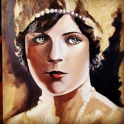 Oil on canvas detail _#movie #movie star