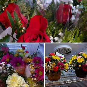 Beat the blahs! Pick up some flowers at