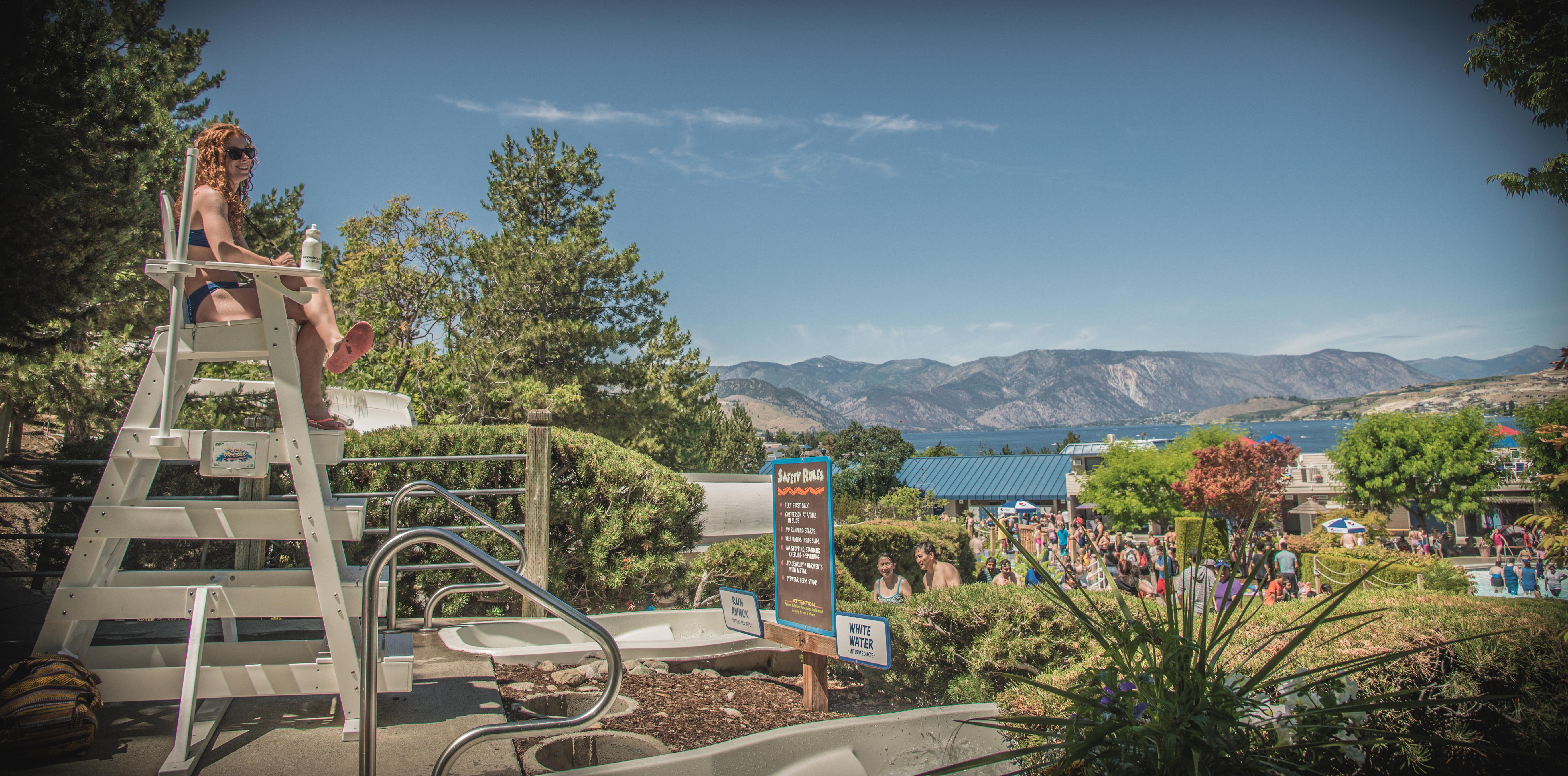 Slidewaters Waterpark, a family-friendly waterpark