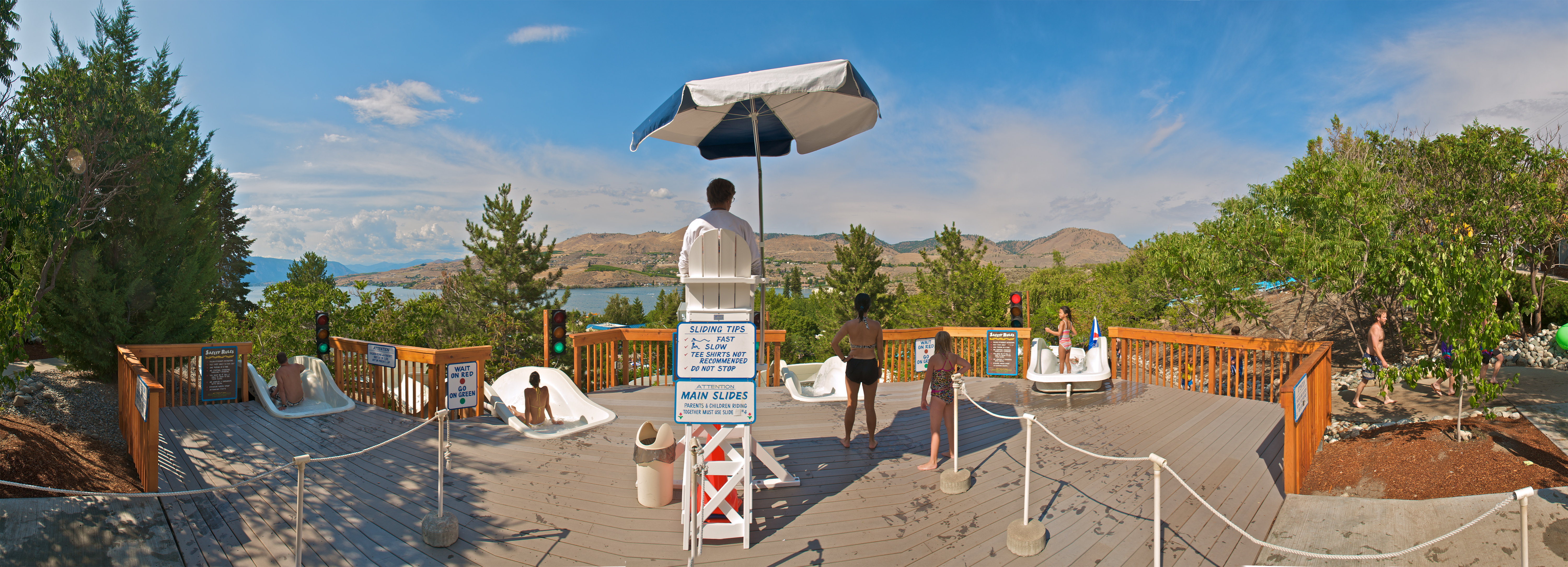 Rides & Attractions at Slidewaters, Lake Chelan