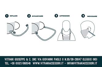 lacci per mascherina chirurgica