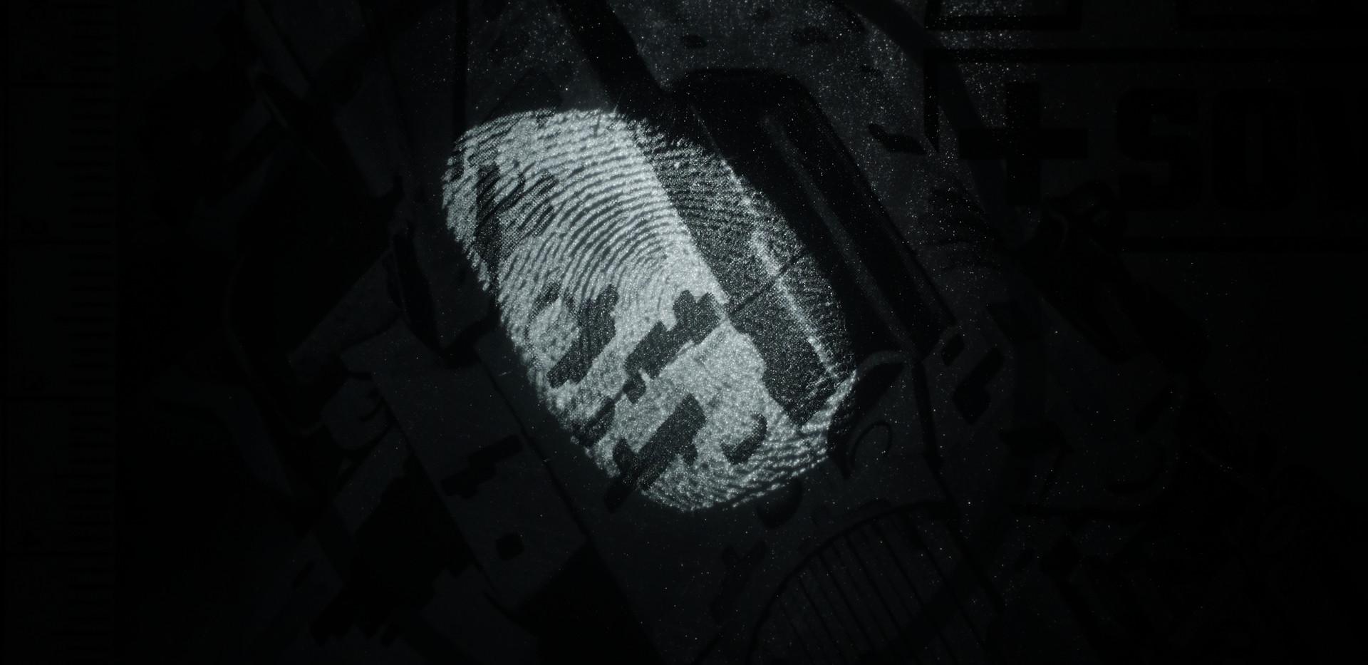 Fingerprint on Magazine
