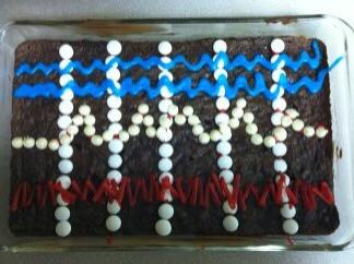 Polygraph Cake