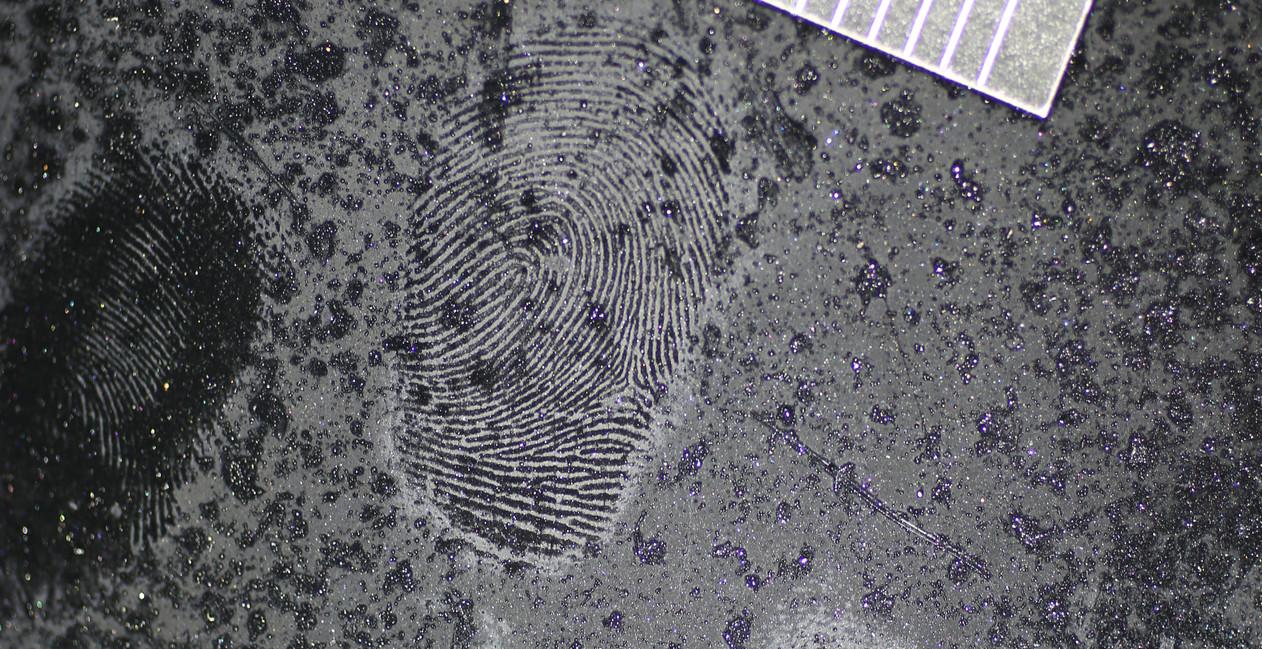 Fingerprints on Car