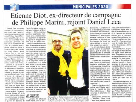 Etienne Diot rejoint le collectif