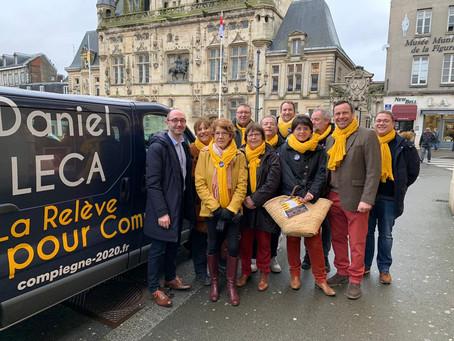 Daniel LECA et son collectif PACTE multiplient les lieux d'échanges avec les Compiégnois
