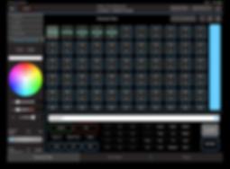 Blackout Lighting Console App screenshot channel view fixture controls