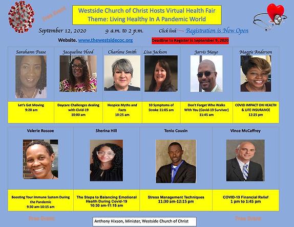 Westside Virtual Health Fair Guest Prese