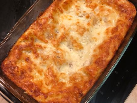 Húsmentes Lasagne csicseriborsóval