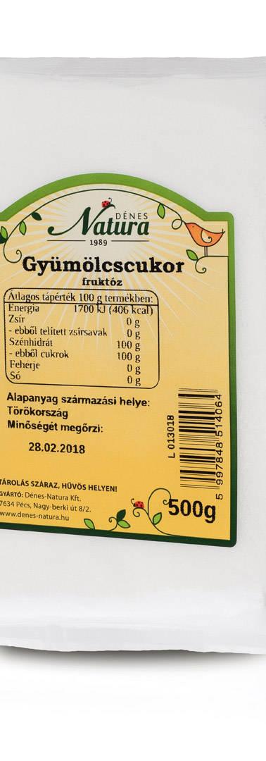 Gyümölcscukor 500 g