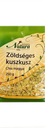 Zöldséges kuszkusz chia maggal 250g