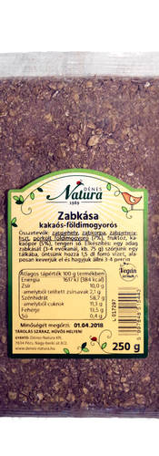 Zabkása kakaós-földimogyorós 250 g