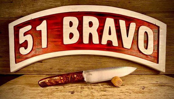 "6""Rasp Chefs Knife"