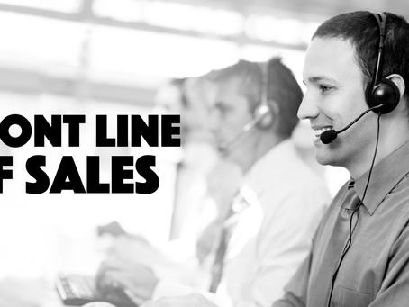 THE FRONT LINE OF SALES