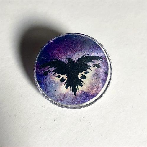 Archive Ravens logo pin