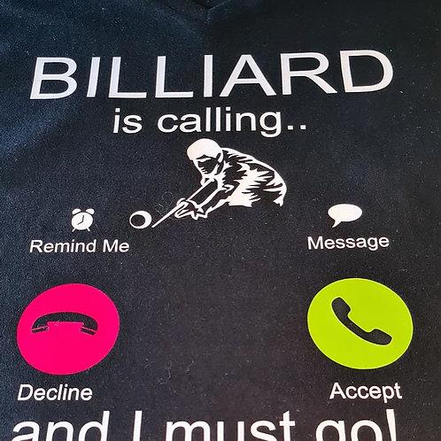 Billiard is calling