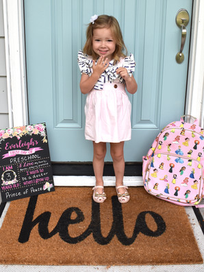 First Day of Preschool!