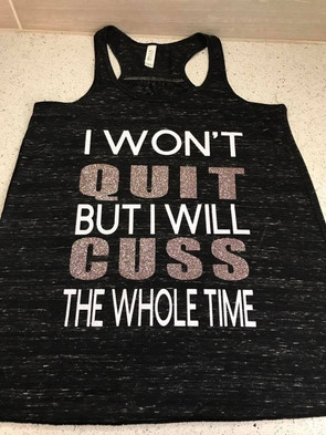 Graphic Workout Tank