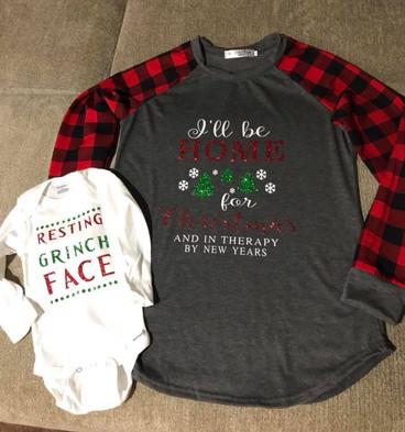 Graphic Christmas Shirts