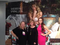 With designer Sherri Hill