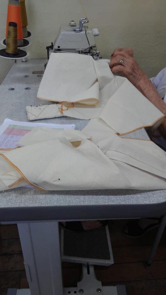 Aluna do curso de Roteiro de Costura -Es