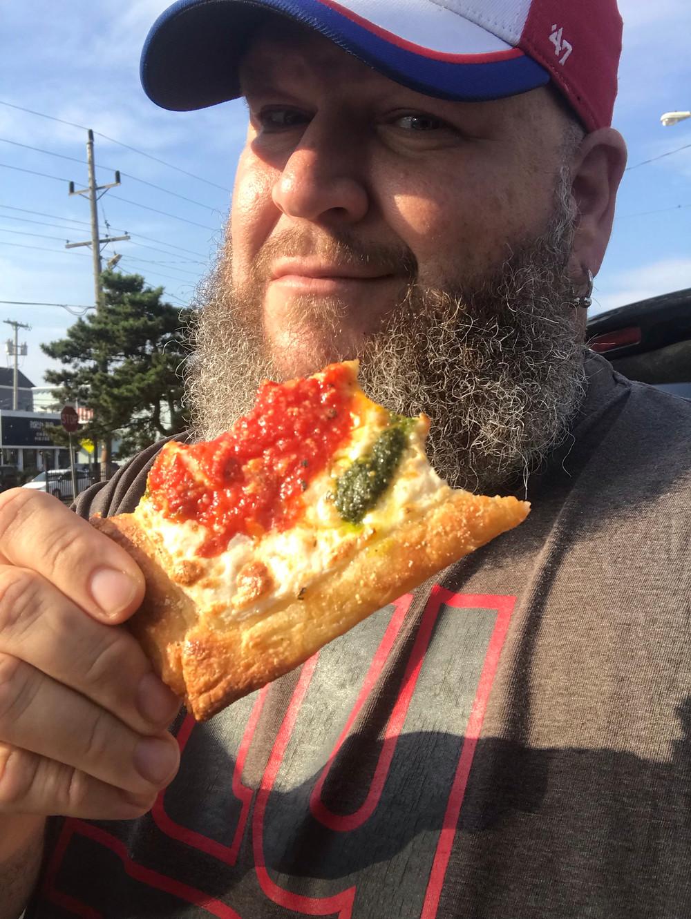 Gigi's New York Style Pizza Sea Bright New Jersey Grandma Slice