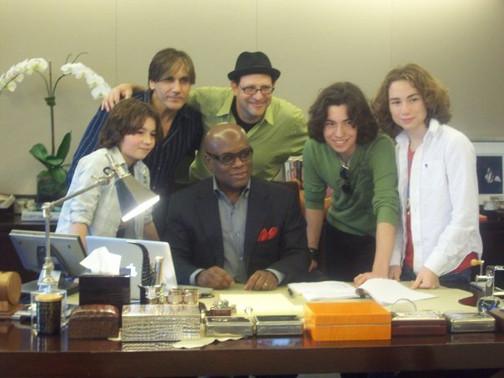 LA Reid, Freddi Shehadi, Burnham Brothers Band