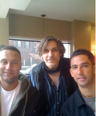 Freddi Shehadi, Derek Jeter and Jorge Posada