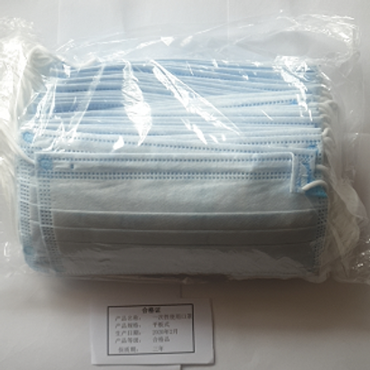 Disposable Protective Facemask 500 Pcs