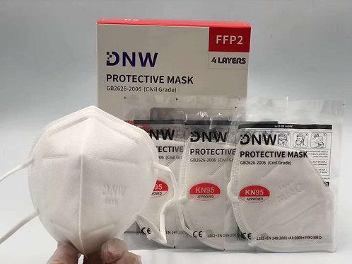 DNW KN95 Mask FFP2 50 Pcs