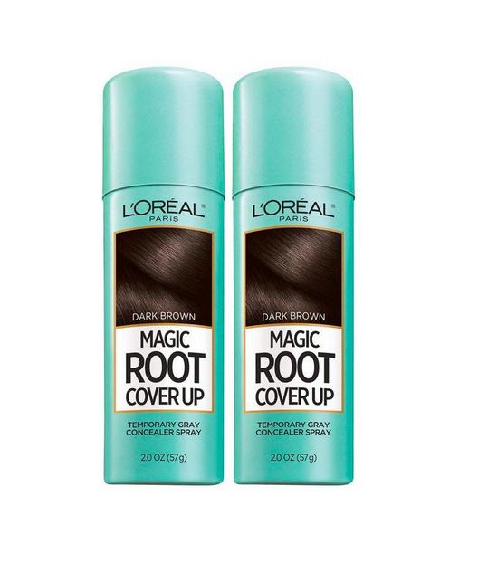 Darkest Brown Root Spray