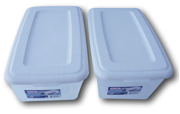 2 Sterilite Tubs