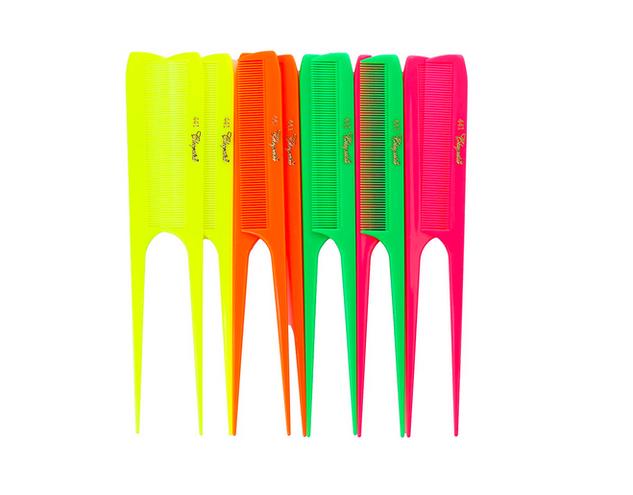 Neon Rat Tail Combs