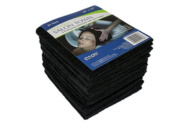 Microfiber Black Towels