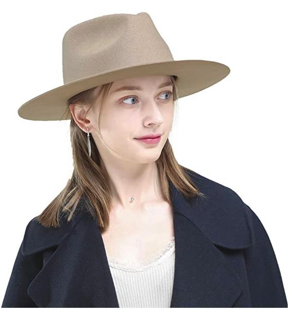 Wide Brim Women's Hat