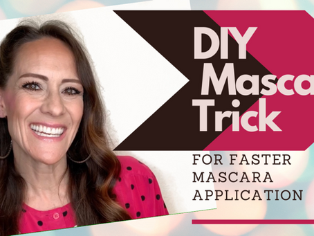 Oct. 2020. Easy DIY Mascara Trick