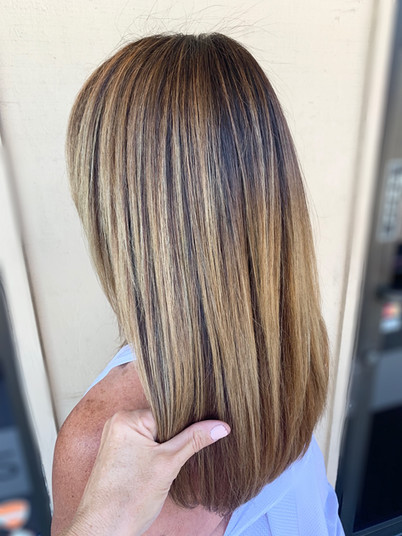Painted Hair Straight • $210