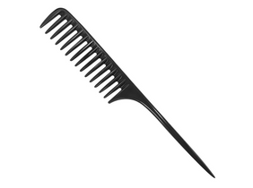 Black Rat Tail Comb