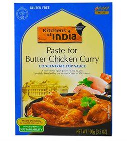 Curry Paste for Indian Food