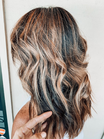 Painted Hair Curled • sessions required