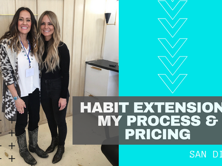 Sept. 2020. Hand Tied Extensions, My Process & Pricing