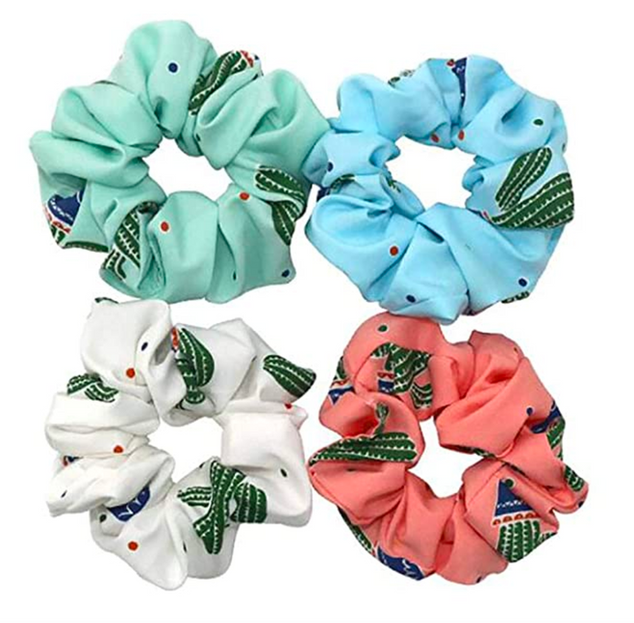 Cactus Scrunchies for Extensions