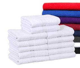 White Salon Towels