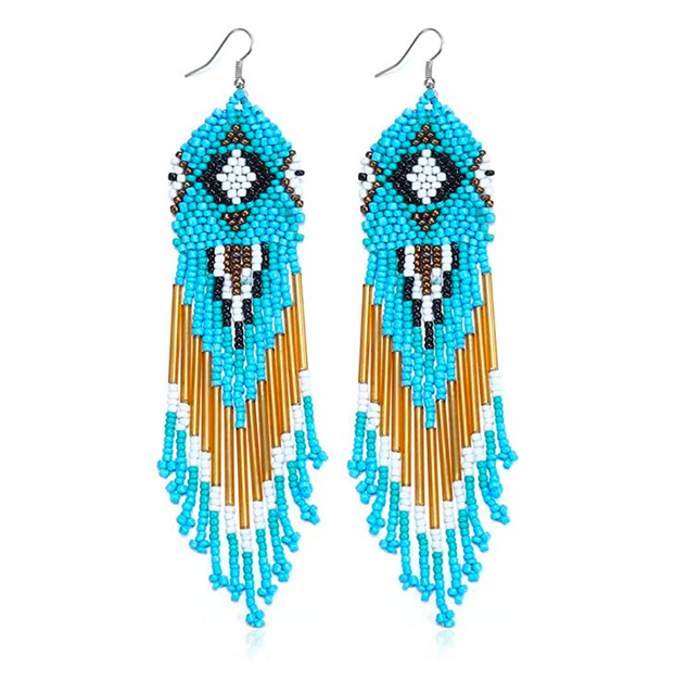Navajo Inspo Dangle Earrings
