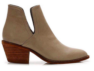Cut Out Western Bootie