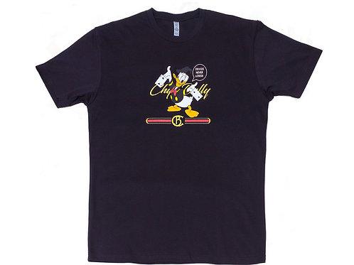 "Black ""Deuces"" Chip Bully T-Shirt"