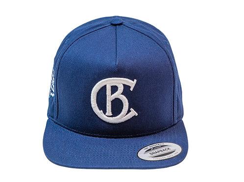 Chip Bully Blue & White CB World Series Hat