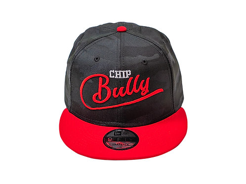 Chip Bully Black & Red Camo Hat