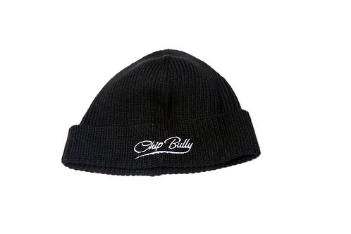 Chip Bully Black Beanie
