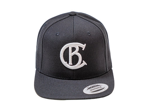 Chip Bully Black & White Hat